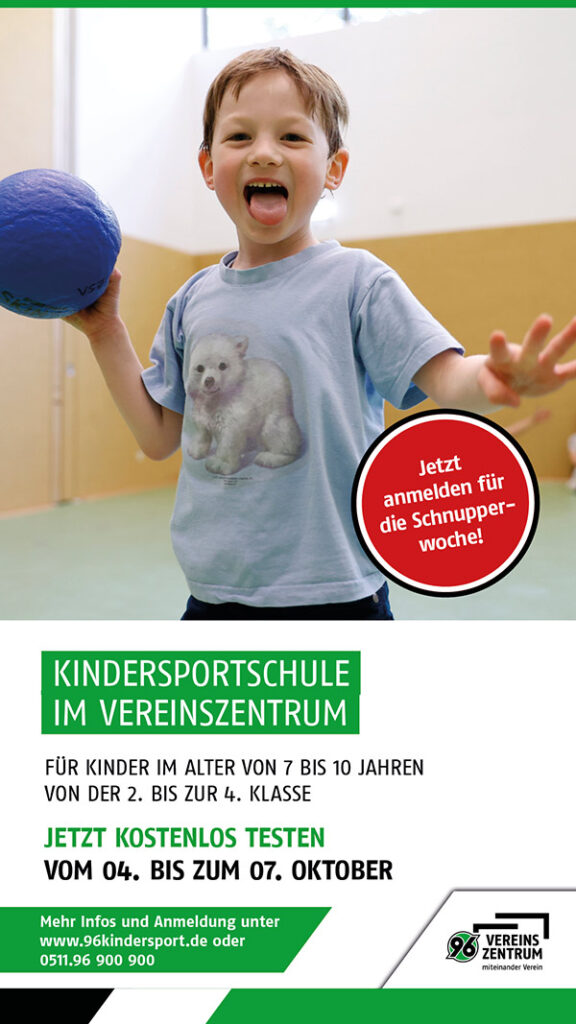 Kindersportschule Schnupperwoche