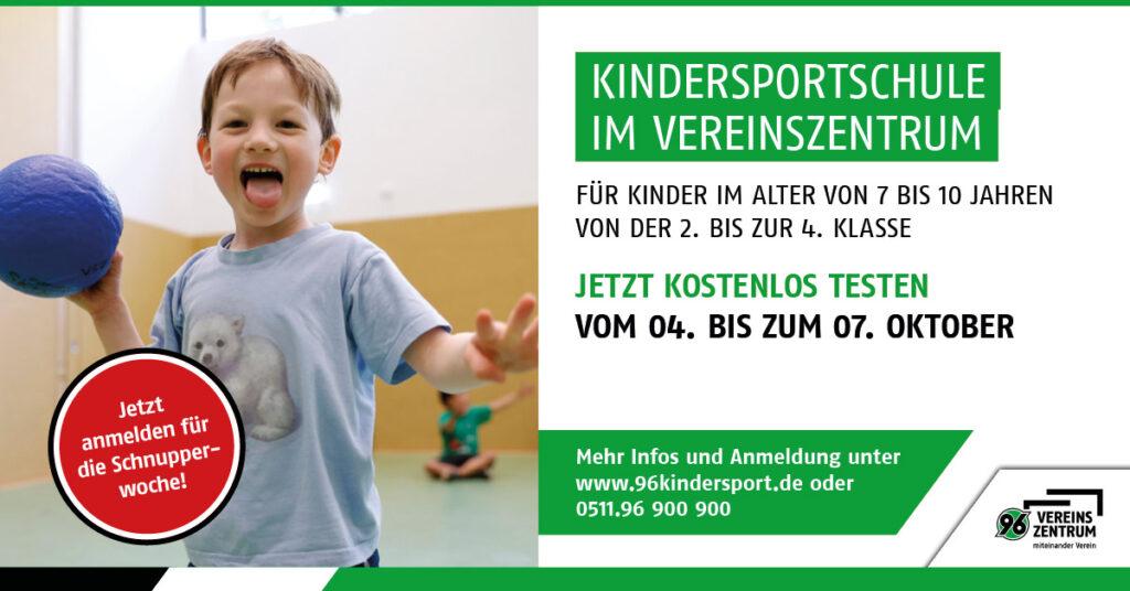 Schnupperwoche Kindersportschule
